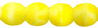 Cristal Checo - Bola - 4mm - Matte Lemon White (50 Uds.)