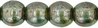 Cristal Checo - Bola - 4mm - Luster Transparent Green (50 Uds.)