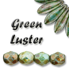CRISTAL CHECO - Green Luster