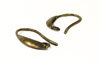 Fornitura - Pendiente - 16mm - Bronce Antiguo (3 pares)