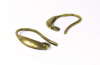 Fornitura - Pendiente - 16mm - Oro Antiguo (3 pares)