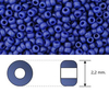 Toho - Rocalla - 11/0 - Matte Color Opaque Blue (10 gramos)