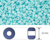 Toho - Rocalla - 11/0 - Opaque Lustered Pale Blue (10 gramos)