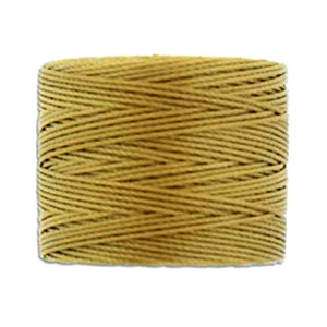 Textil - Superlon Bead Cord - Antique Gold (1 Bobina)
