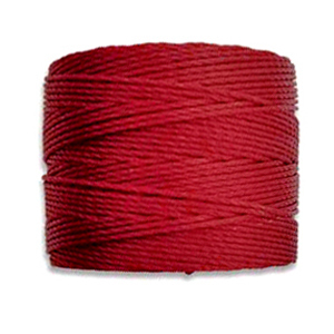 Textil - Superlon Bead Cord - Dark Red (1 Bobina)