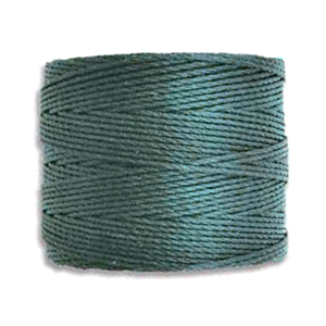 Textil - Superlon Bead Cord - Dark Teal (1 Bobina)