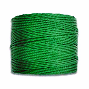 Textil - Superlon Bead Cord - Emerald (1 Bobina)