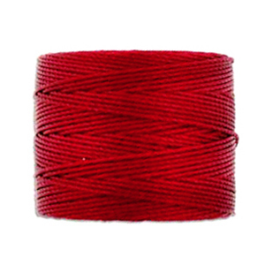Textil - Superlon Bead Cord - Red Hot (1 Bobina)