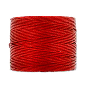 Textil - Superlon Bead Cord - Shanghai Red (1 Bobina)