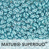 Cristal Checo - Superduo - 2,5x5mm - Pastel Aqua (10 gr.)