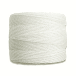 Textil - Superlon Bead Cord - White (1 Bobina)