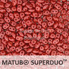Cristal Checo - Superduo - 2,5x5mm - Pastel Scarlet (10 gr.)