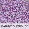 Cristal Checo - Superduo - 2,5x5mm - Pastel Pale Lilac (10 gr.)