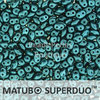 Cristal Checo - Superduo - 2,5x5mm - Pastel Blue Turquoise (10 gr.)