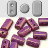 Cristal Checo - Rulla - 3x5mm - Luster Matte Metallic Amethyst (10 gr.)