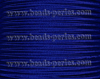 Textil - Soutache-Poliester - 3mm - Royal Blue (Azulón) (50 metros)
