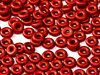 Cristal Checo - O Bead - 2x4mm - Lava Red (5 gr.)