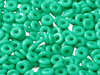 Cristal Checo - O Bead - 2x4mm - Opaque Turquoise (5 gr.)