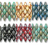 Cristal Checo - Superduo - 2,5x5mm - Mix Picasso 16 (60 gr.)