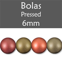 Cristal Checo - Bola - 6mm - Raspberry Iris Satin (25 Uds.)