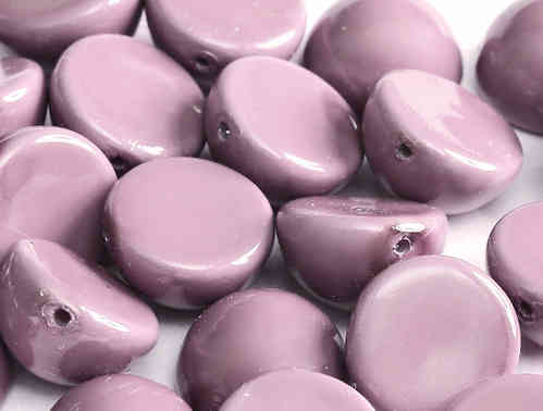 Cristal Checo - DOME BEADS - 14X8mm - Lilac (5 uds.)