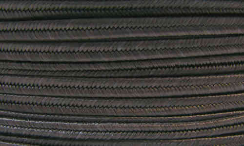 Textil - Soutache - 3mm - Dark grey (Gris oscuro) (2 metros)