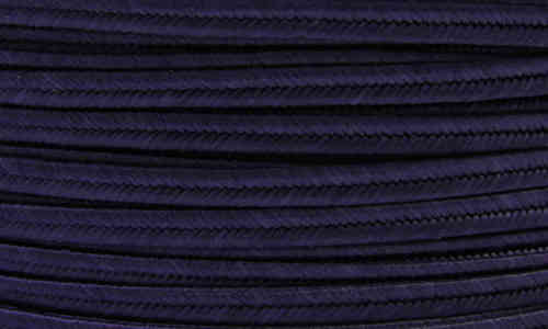 Textil - Soutache - 3mm - Navy blue (Azul marino) (2 metros)