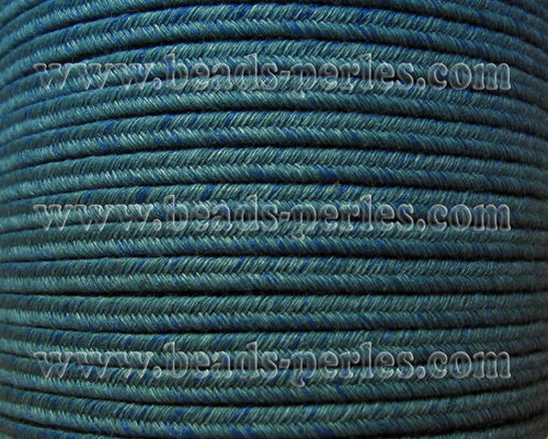 Textil - Soutache DENIM-JEANS - 3mm - Moment Magnitude (50 metros)