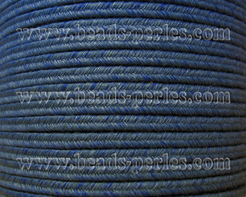 Textil - Soutache DENIM-JEANS - 3mm - State (50 metros)
