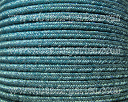 Textil - Soutache DENIM-JEANS - 3mm - Laurel Haze (50 metros)