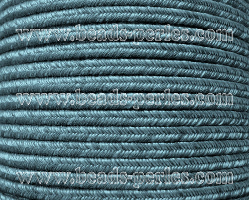 Textil - Soutache DENIM-JEANS - 3mm - Time Gone By (50 metros)
