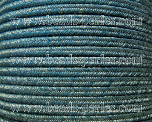 Textil - Soutache DENIM-JEANS - 3mm - The Jc (50 metros)