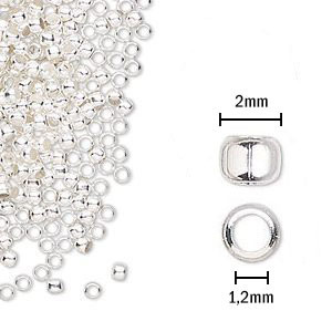 Fornitura - Chafa - 2mm - Color Plata (200 Uds.)