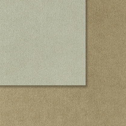 Textil - DuoSuede - 40x40 cm. - Silver / Taupe (1 Uds.)