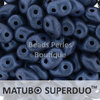 Cristal Checo - Superduo - 2,5x5mm - Metallic Suede Blue (10 gr.)