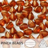 Cristal Checo - Pinch - 5x3mm - Halo Cardinal (100 Uds.)