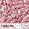 Cristal Checo - Pinch - 5x3mm - Marbled Pink & Lilac (100 Uds.)