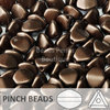 Cristal Checo - Pinch - 5x3mm - Pastel Chocolat (100 Uds.)