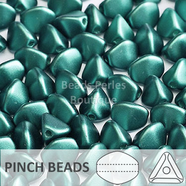 Cristal Checo - Pinch - 5x3mm - Pastel Blue Turquoise (100 Uds.)