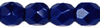 Cristal Checo - Facetada - 4mm - Navy Blue (50 Uds.)
