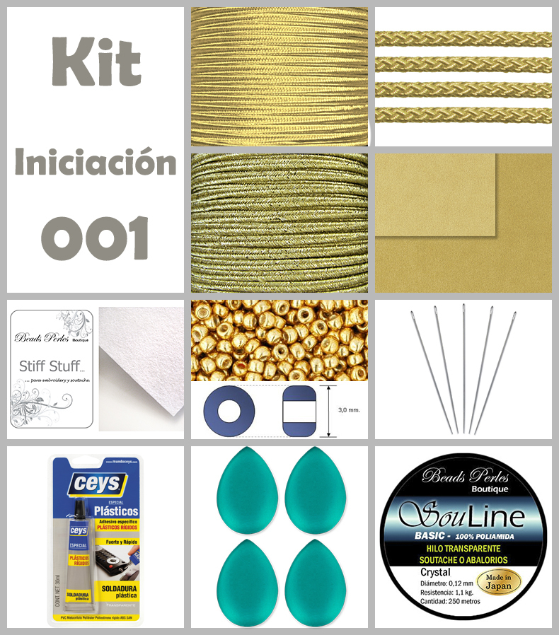 KIT - Soutache iniciación 001