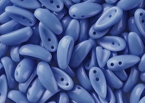 Cristal Checo - Chilli - 4x11mm - Opaque Periwinkle (40 Uds.)
