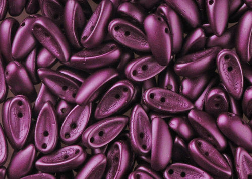 Cristal Checo - Chilli - 4x11mm - Pastel Purple (40 Uds.)