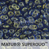 Cristal Checo - Superduo - 2,5x5mm - Halo Ultramarine (10 gr.)