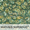 Cristal Checo - Superduo - 2,5x5mm - Halo Heavens (10 gr.)