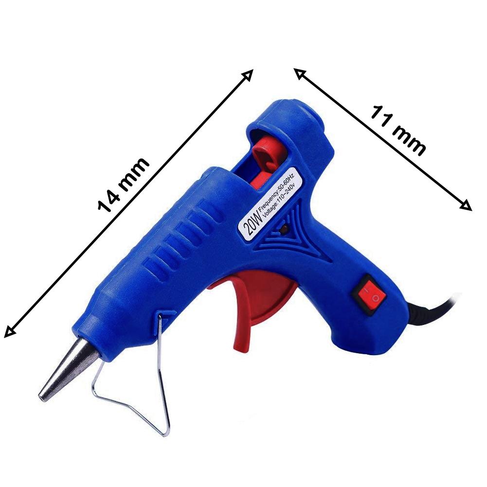 Recambio para pistola de silicona 6 unidades de 11,2 mm