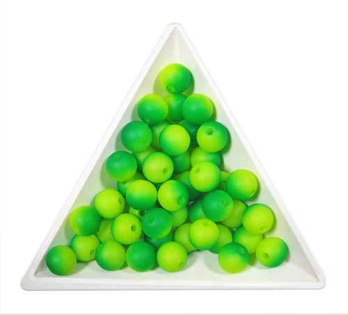 Bola acrílica WONDER - 8mm - Lime le mint (10 Uds.)