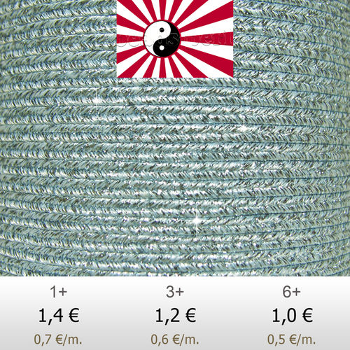 Textil - Soutache HALO Oriente - 3mm - Halo Frozen (2 metros)