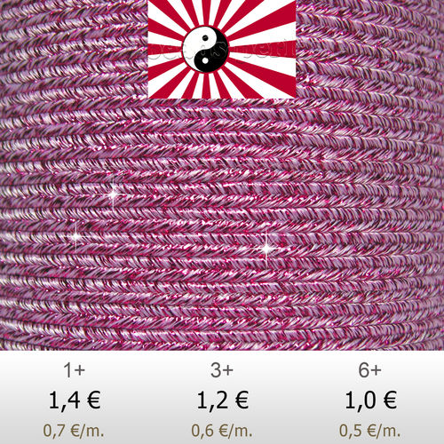 Textil - Soutache HALO Oriente - 3mm - Halo Lollipop (2 metros)