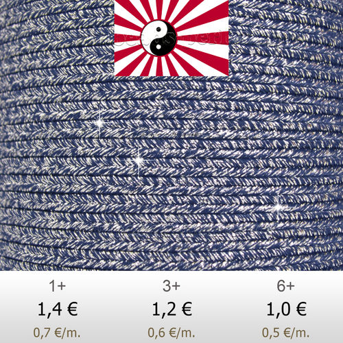 Textil - Soutache HALO Oriente - 3mm - Halo Lightning (2 metros)